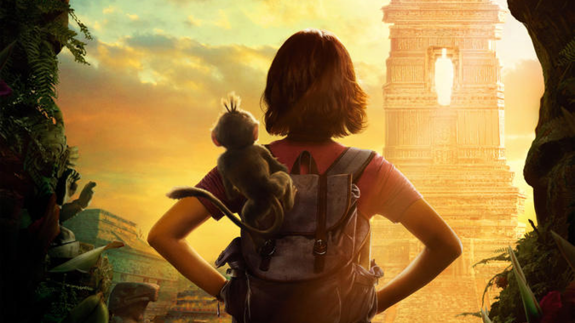 Projection du Film Dora L'exploratrice Et La Cité Perdu