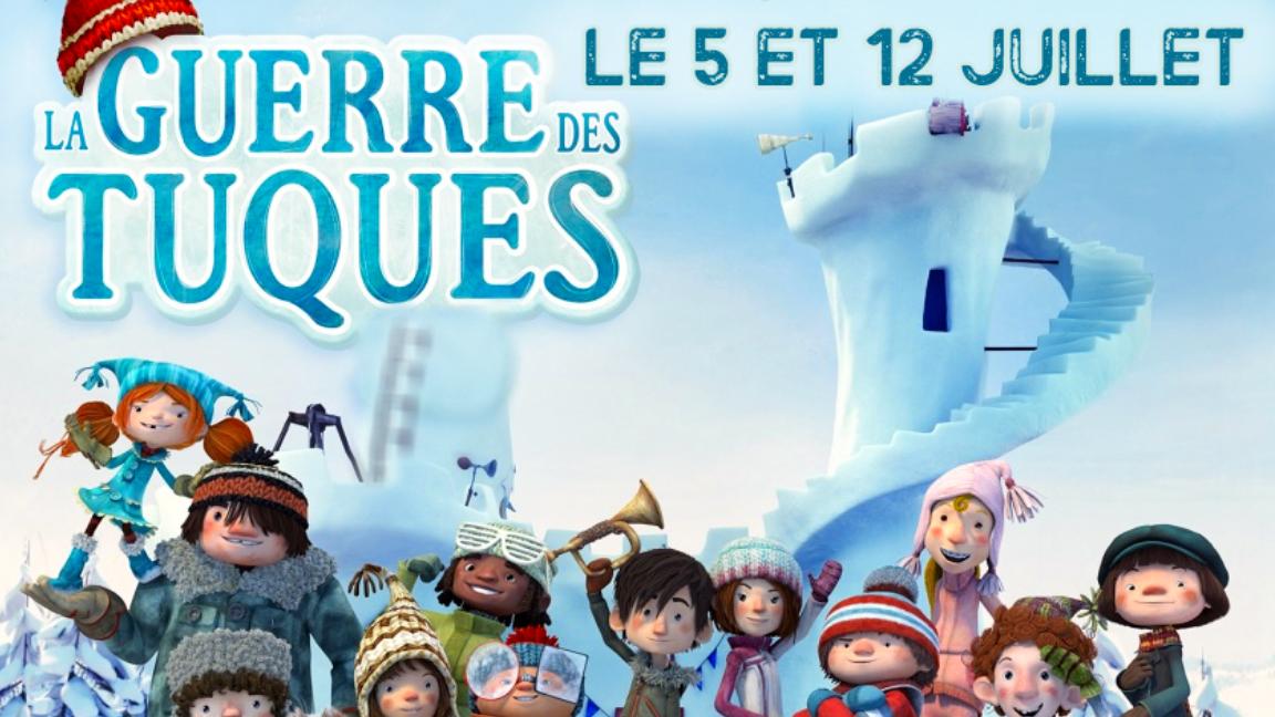 Projection du film La Guerre Des Tuques 3D