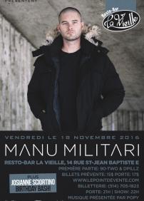 Manu Militari @ Rigaud
