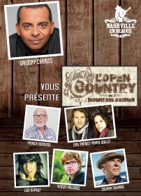 COMBO 2 spectacles : Open Country Mountain Daisies le 28 juillet / Gregory Charles le 4 août