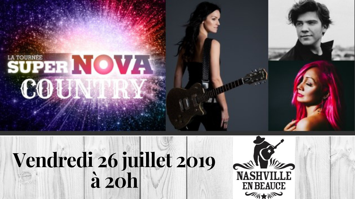 La tournée SuperNOVA Country