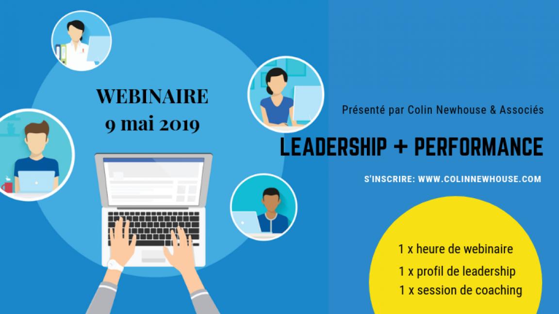 Webinaire: Leadership & Performance