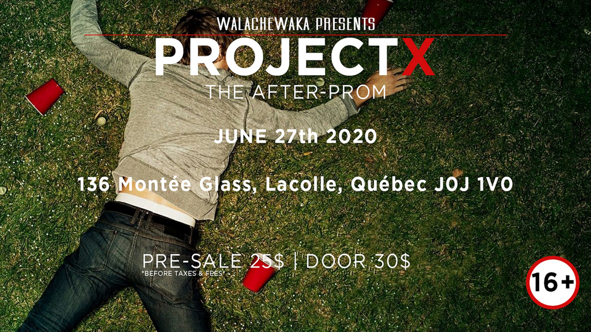 Project X: The Afterprom
