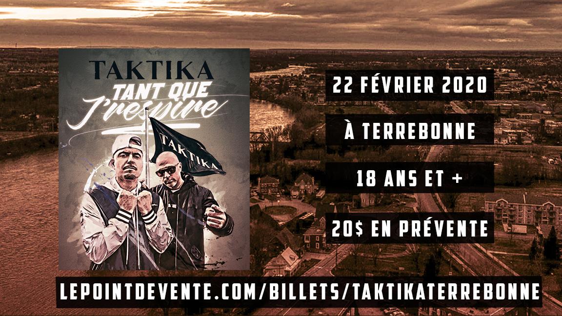 TAKTIKA À TERREBONNE 18+