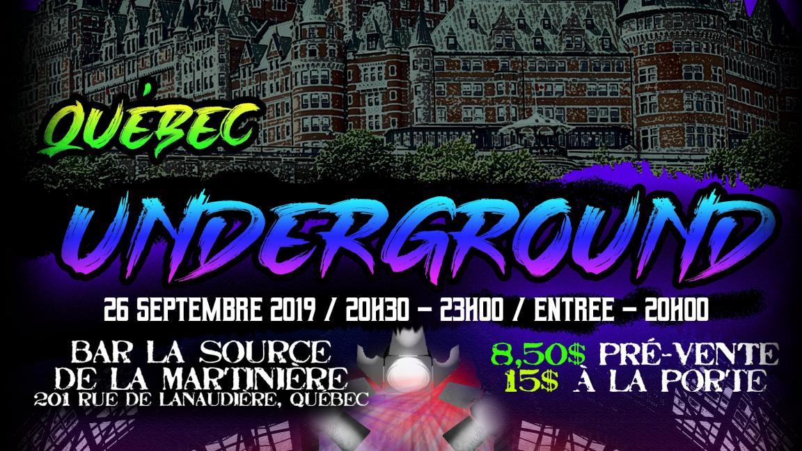 Québec underground
