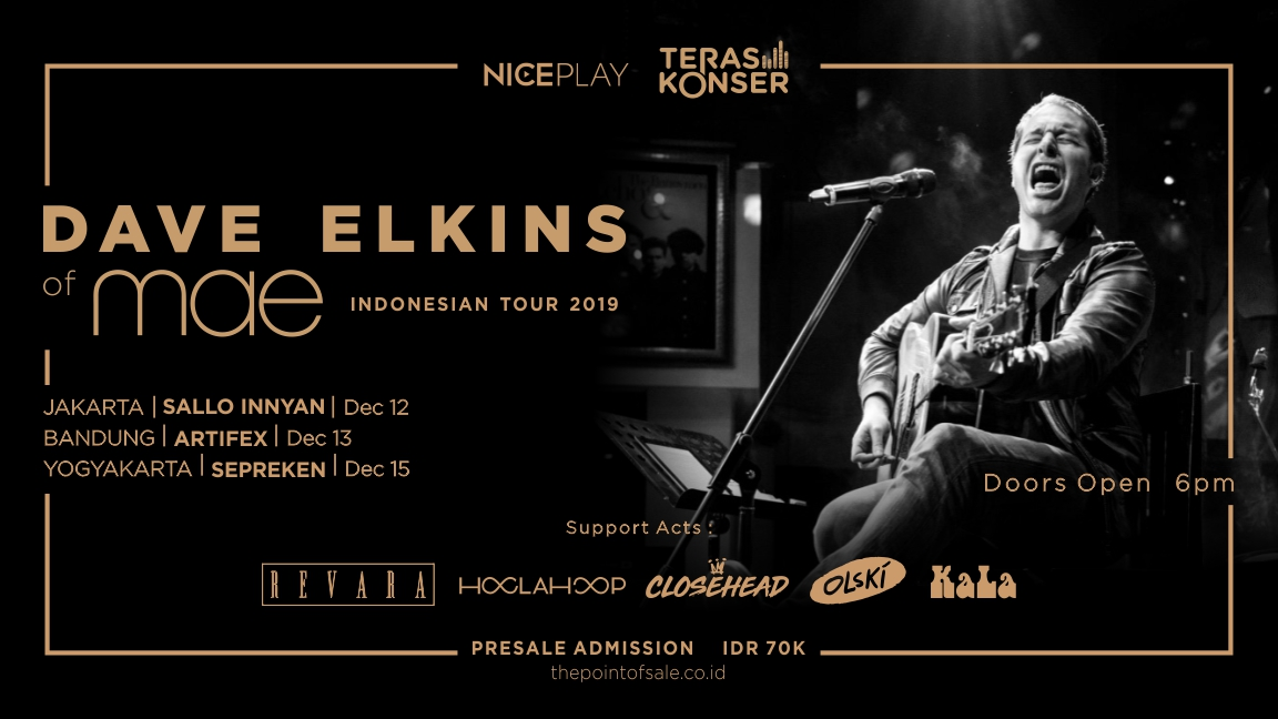 DAVE ELKINS INDONESIAN TOUR: LIVE IN BANDUNG