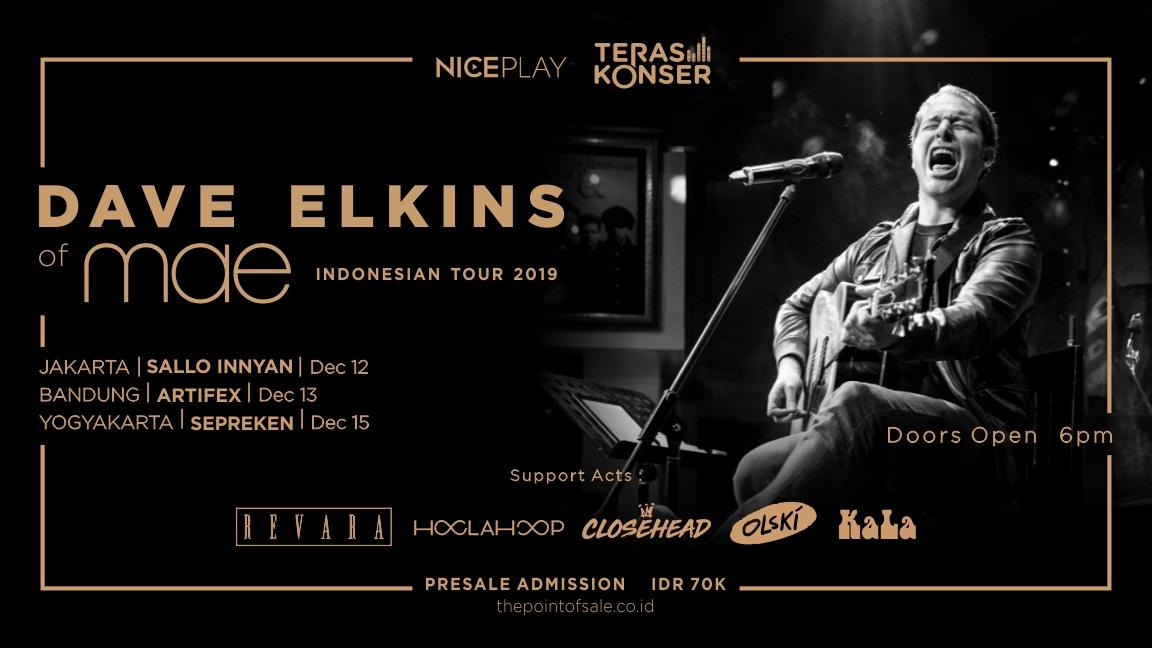 DAVE ELKINS INDONESIAN TOUR: LIVE IN YOGYAKARTA