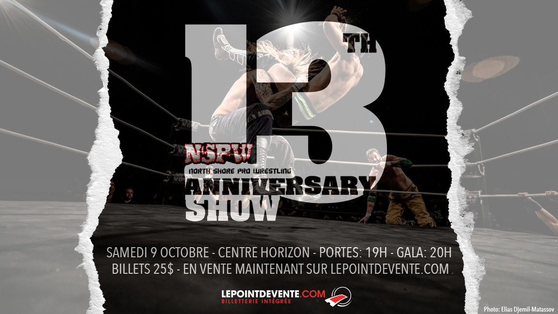 NSPW 13th ANNIVERSARY SHOW