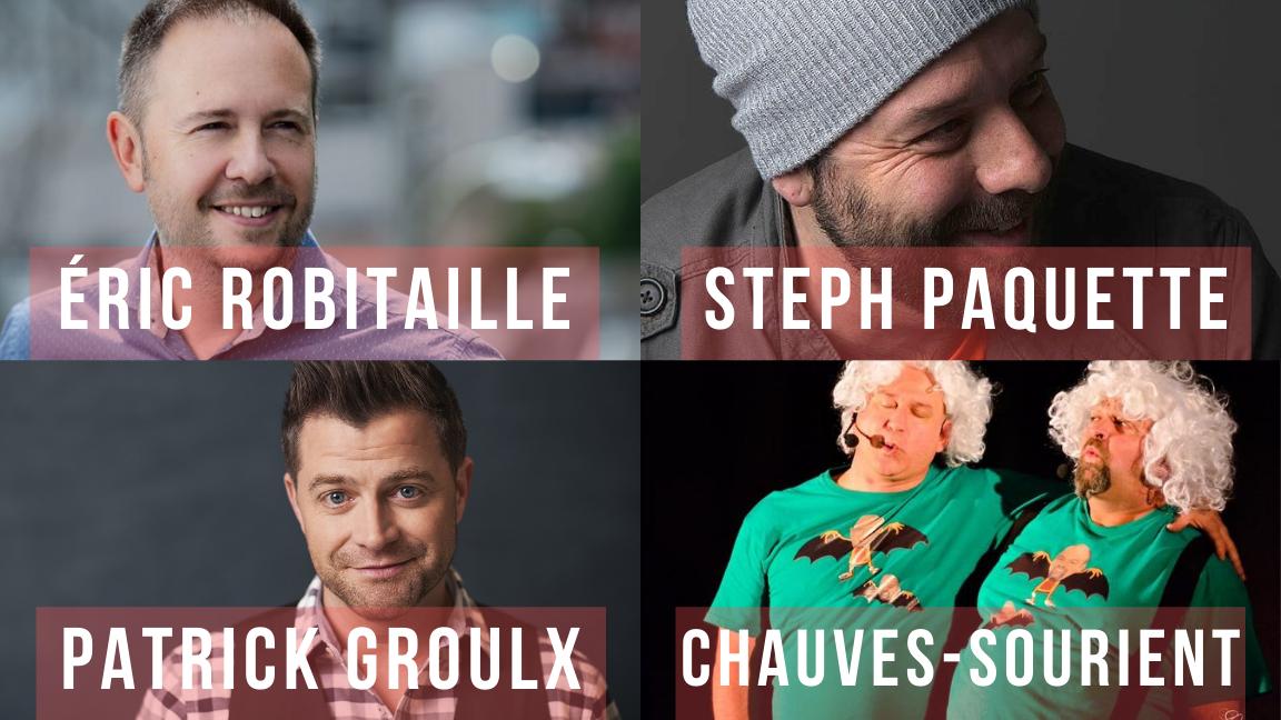 Gala des Chauves-sourient - Humour