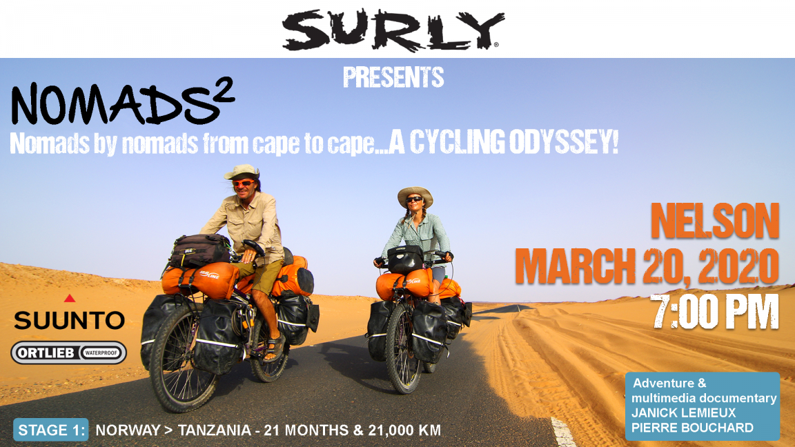 """NOMADS² cycling odyssey 