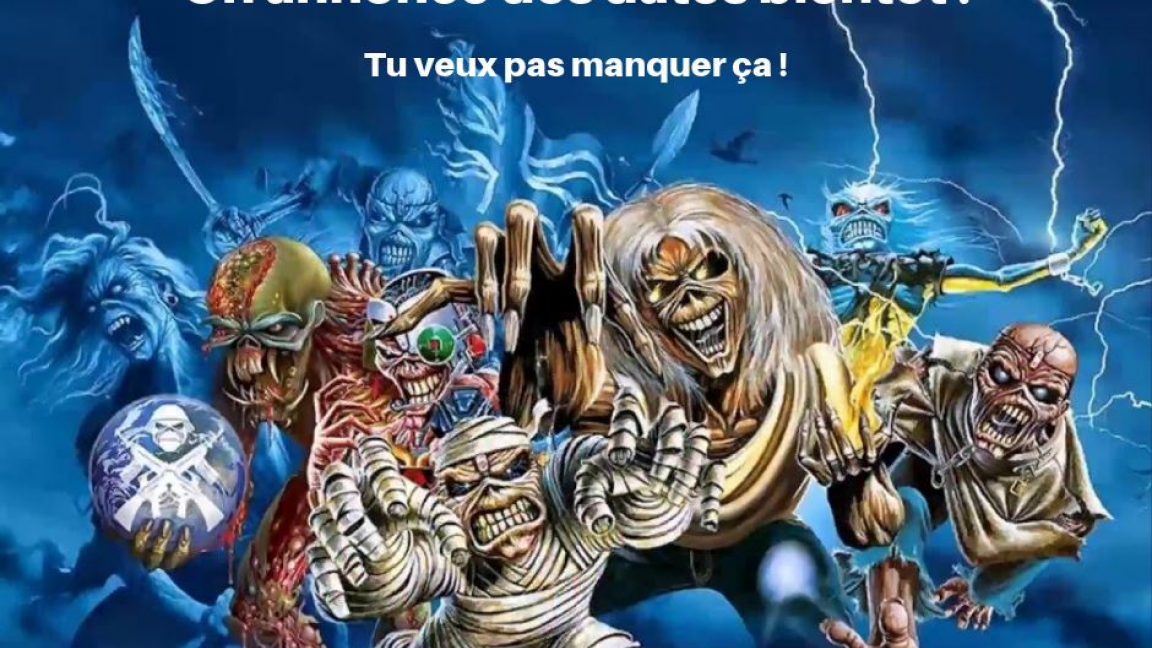 Maiden in Time au Café du Clocher