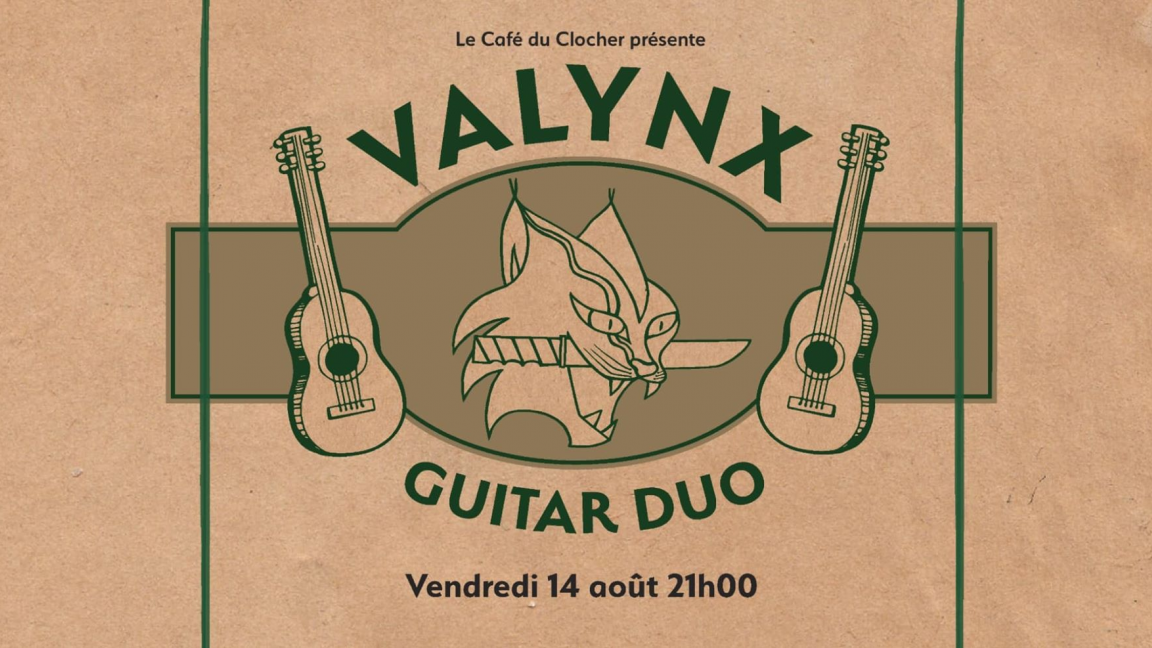 Valynx Guitar Duo (Thomas Folly et François Boulianne)