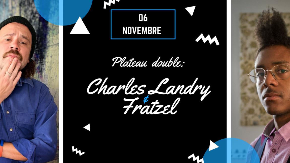 Fratzel et Charles Landry au Café du Clocher