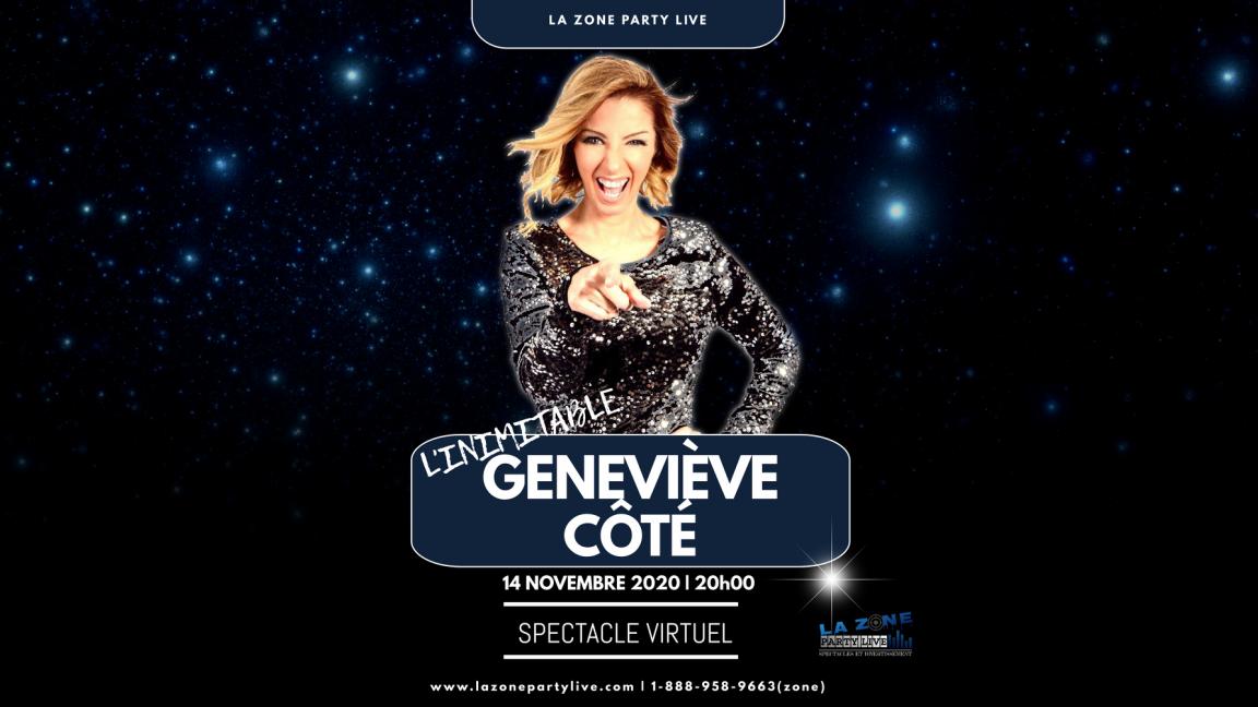 L'Inimitable Geneviève Côté