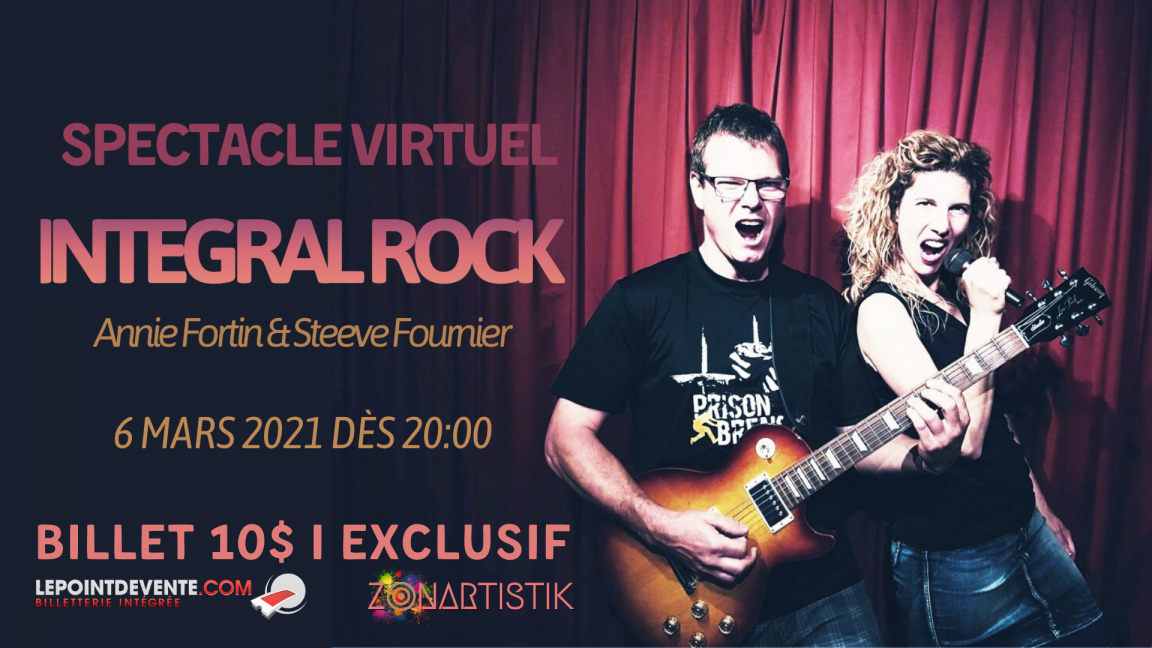 Integral Rock en spectacle virtuel