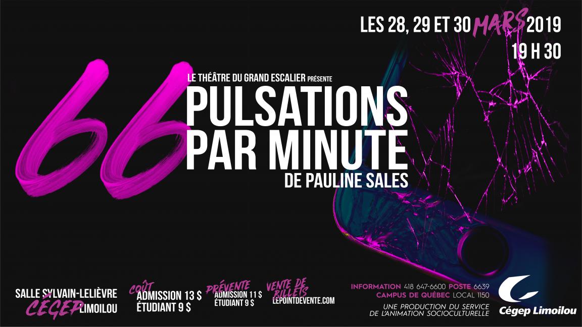 66 PULSATIONS PAR MINUTE