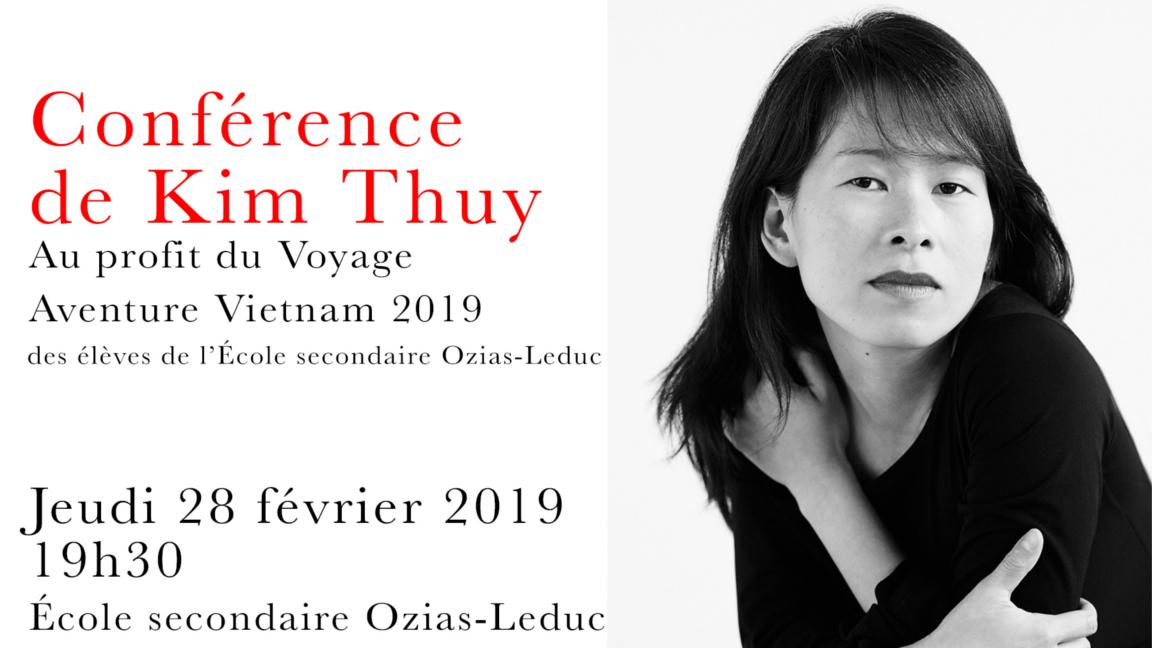 Kim Thúy, Vietnam 2019