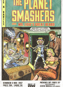 The Planet Smashers / Mr. Love's Great Beard