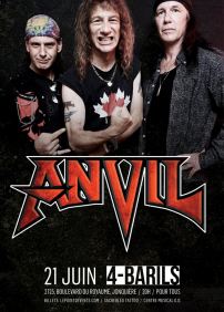 Anvil et Leather Maniac