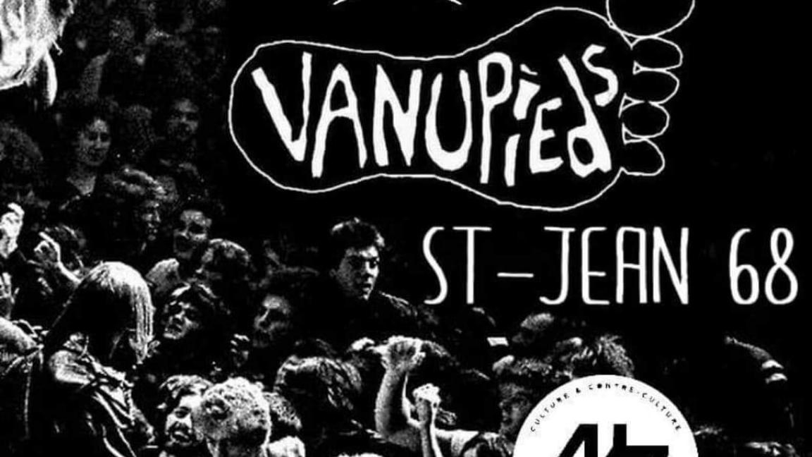 Les Vanupieds, The Rocketeers et St-Jean 68