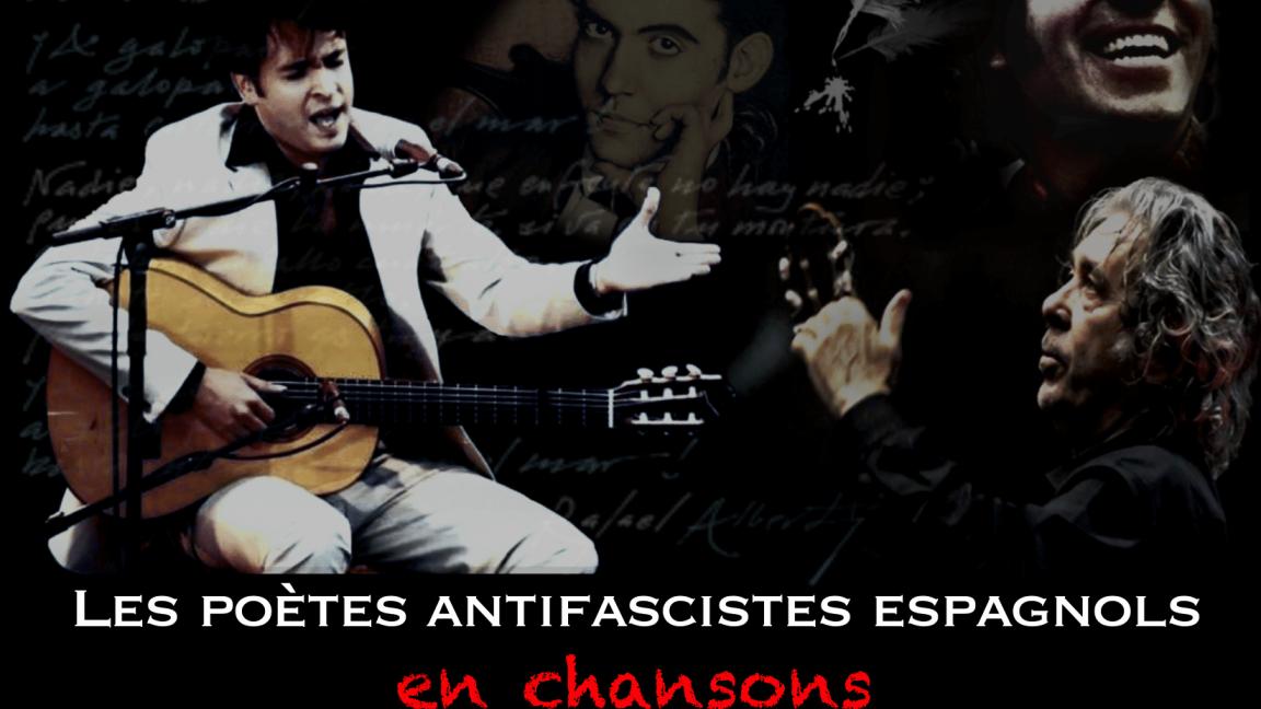 LES POÈTES ANTIFASCISTES ESPAGNOLS EN CHANSON  Eddy Maucourt chante Paco Ibañez