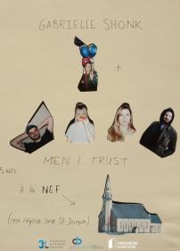 Gabrielle Shonk + Men I Trust (25 novembre)