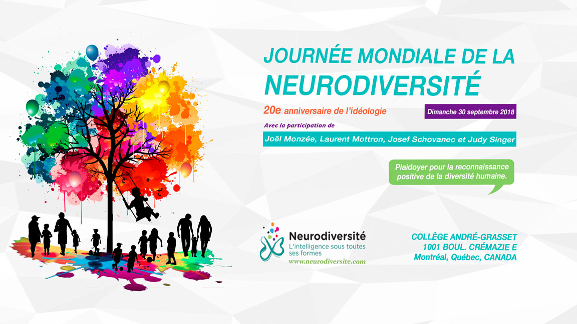 Journée mondiale de la neurodiversité (Diffusion Web)