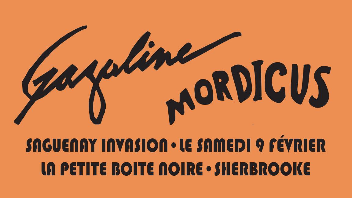 Gazoline et Mordicus