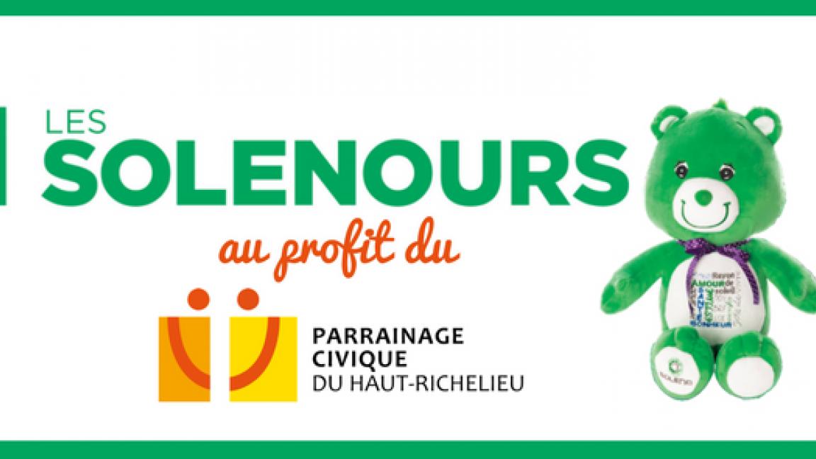 SOLENOURS au profit du Parrainage civique du Haut-Richelieu