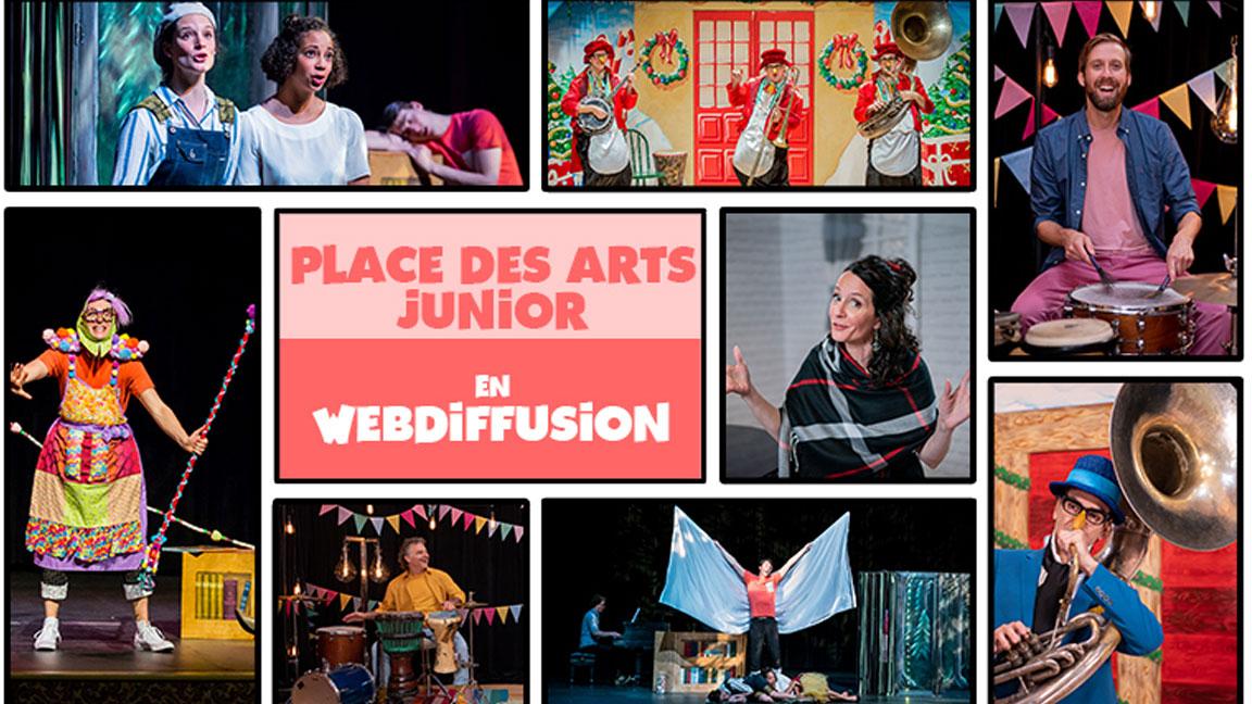 FORFAIT 3 SPECTACLES - Place des Arts Junior