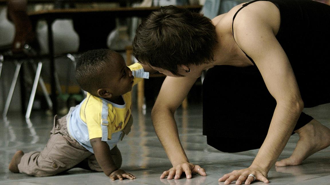 Danse afro-contemporaine maman-bébé