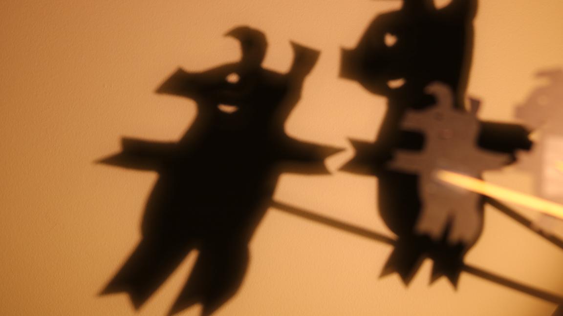 Lumières et ombres: un conte de papier