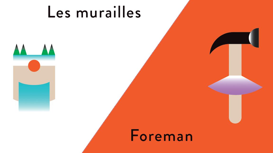 Les murailles / Foreman