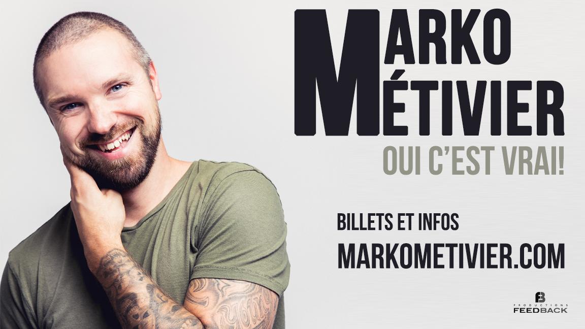 Marko Métivier - Oui c'est vrai!