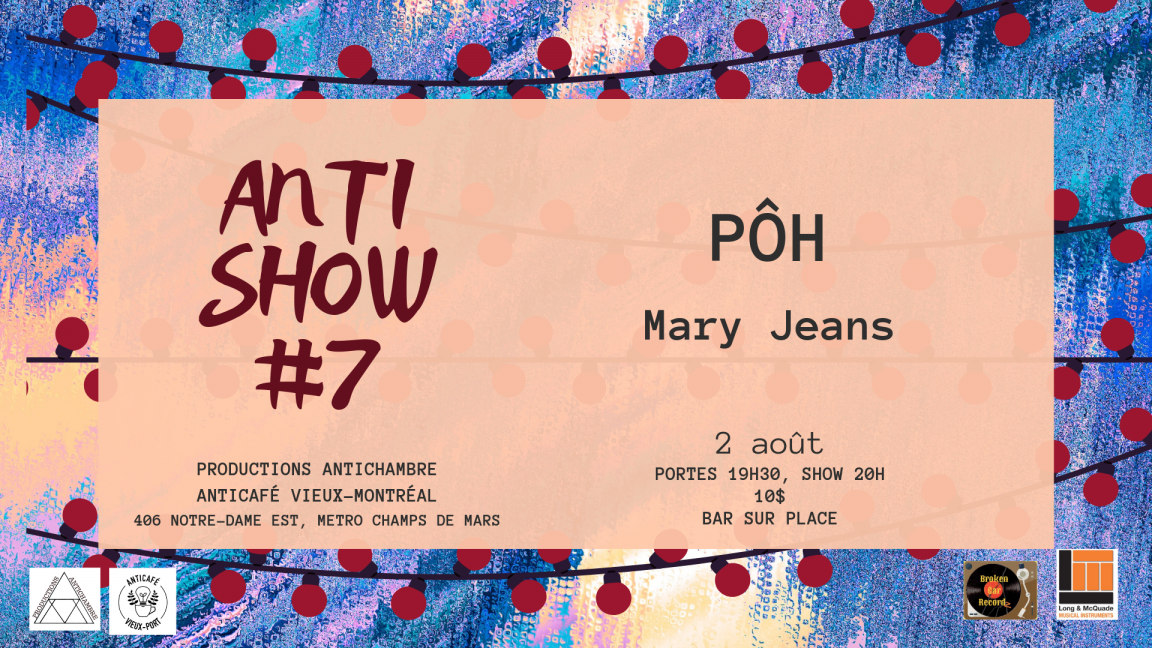 Antishow #7 : PÔH * Mary Jeans