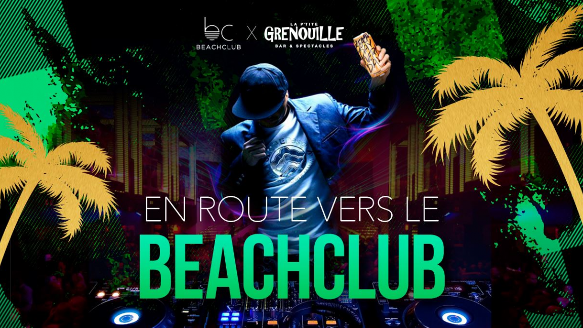 DJ contest ''Run to the Beachclub'' Final with Olivier Primeau