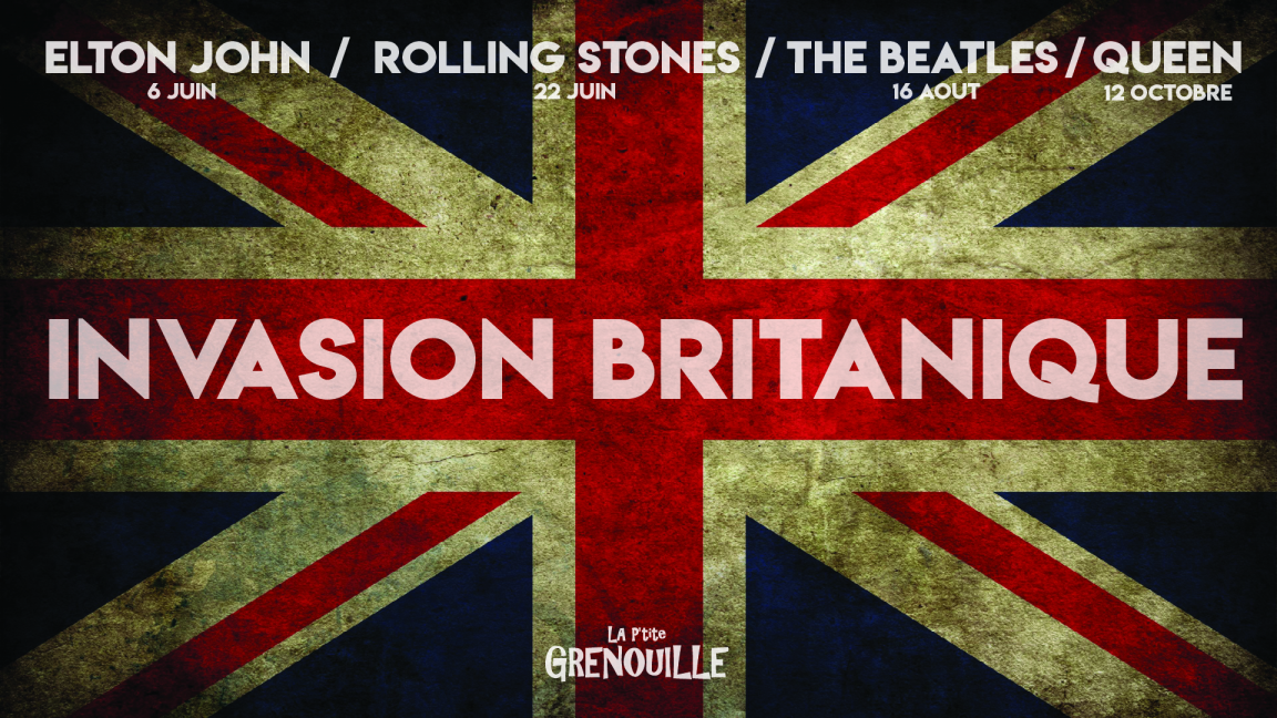 Package ''British Invasion'' - Access to 4 shows (Elton John, Rolling Stones, The Beatles, Queen)