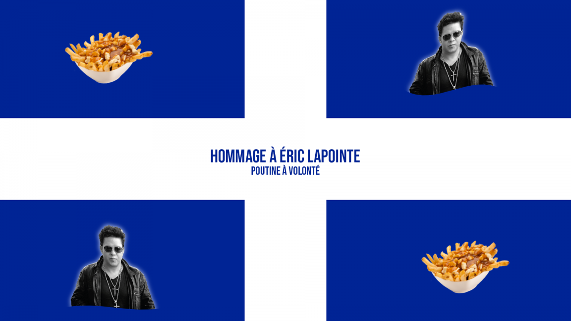 St-Jean Baptiste party 24th of june : Tribute to Eric Lapointe and all you can eat poutine