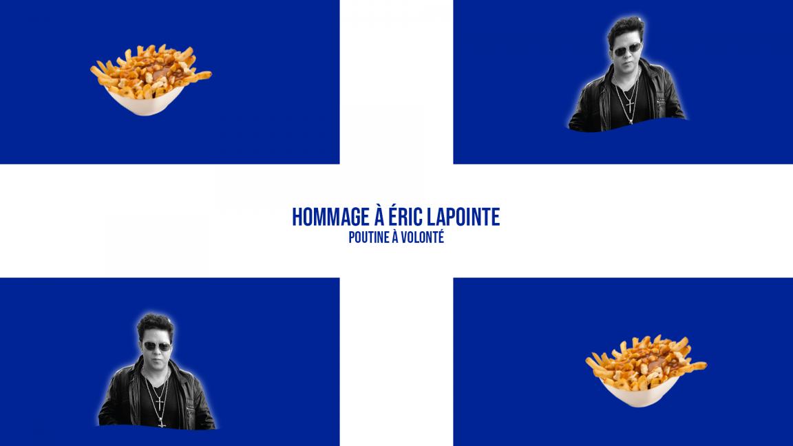 Party de la St-Jean du lundi 24 juin : Hommage à Éric Lapointe et souper poutine à volonté!