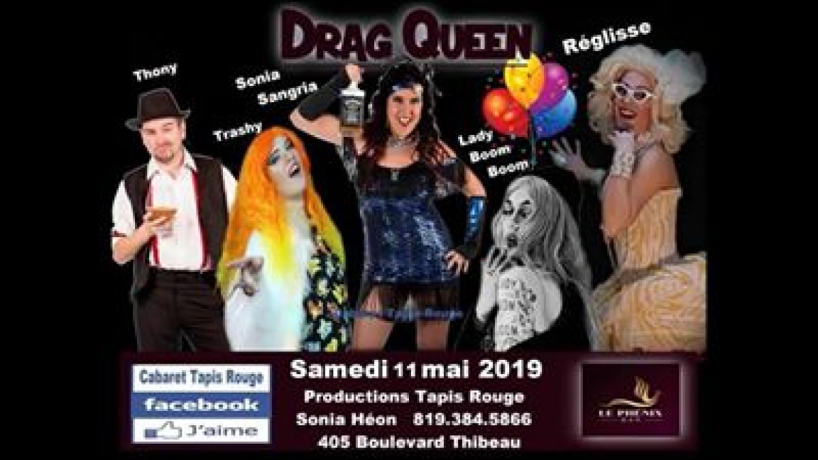 DragQueen fête Sonia Party