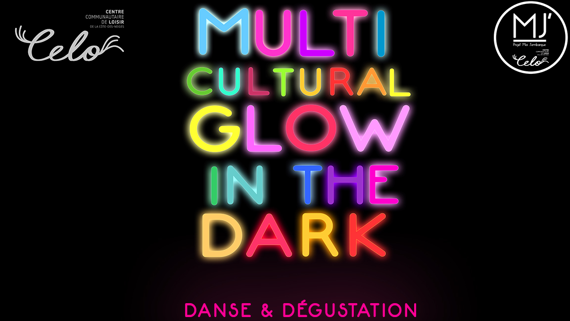 Multicultural Glow in the dark
