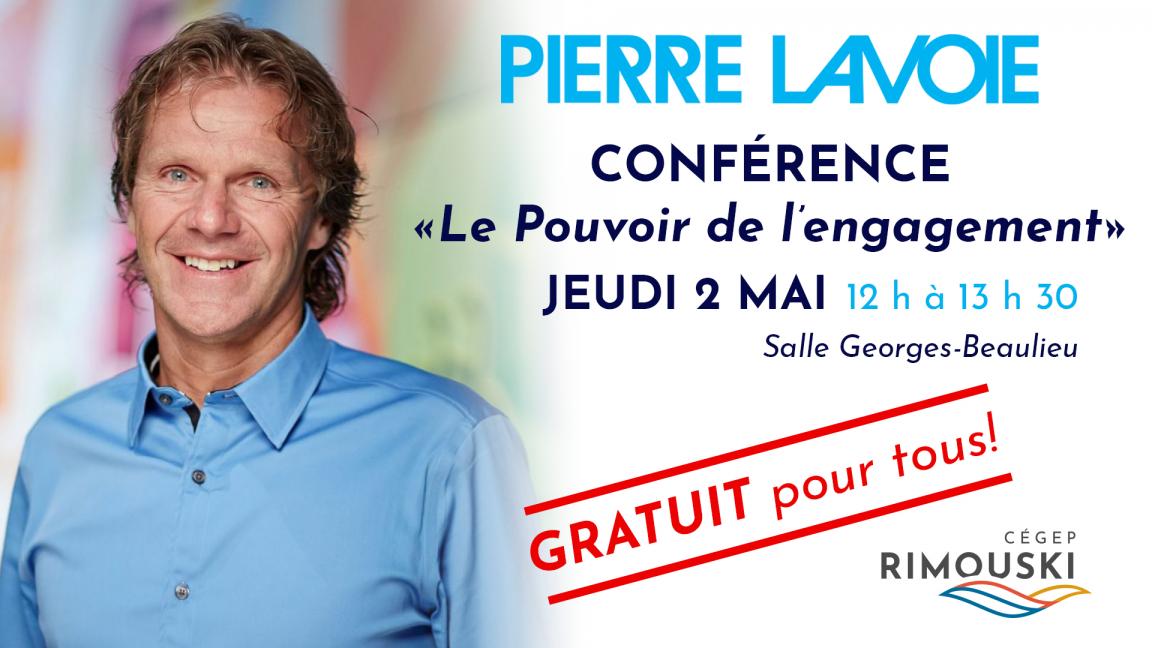 Conférence Pierre Lavoie