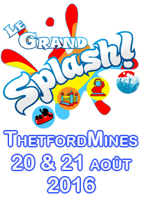 Le Grand Splash Super Slide Thetford Mines - Billets disponibles à la porte