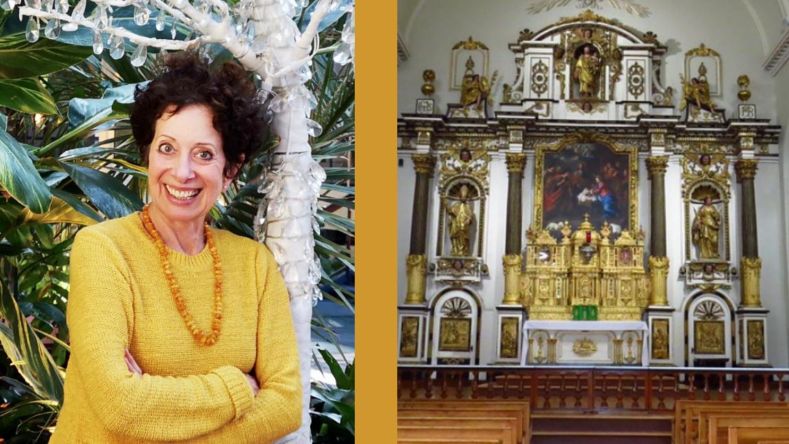 Noël dans la Chapelle des Ursulines : Marie Louise Bourbeau