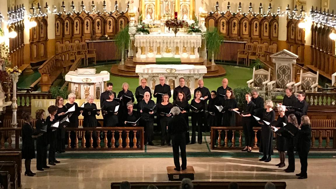Noël dans la Chapelle des Ursulines : L'Ensemble de Musique Sacrée de Québec