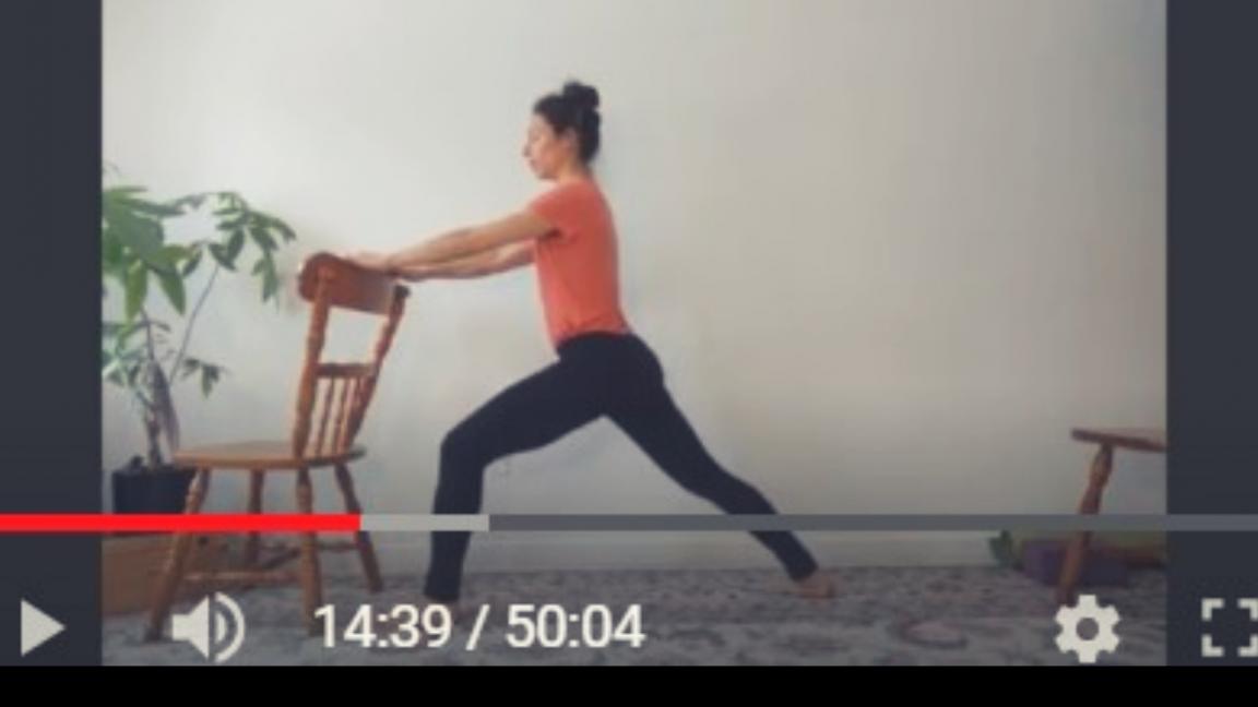 (Rediffusion) Yoga Doux - 1 cours - 50 min - Débutants
