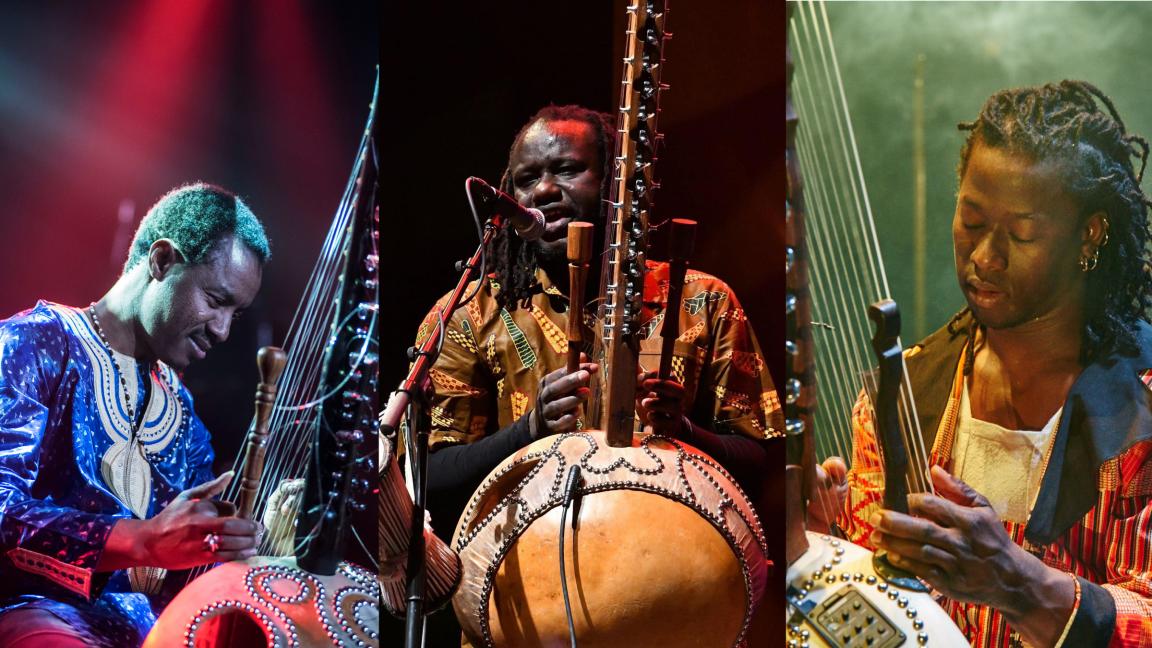 Trio Kora (Mali Senegal Guinea)