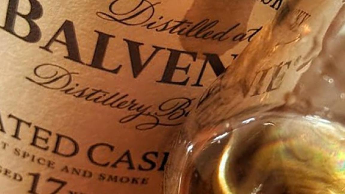 Dégustation des whiskys de la distillerie Balvenie - Haut de gamme