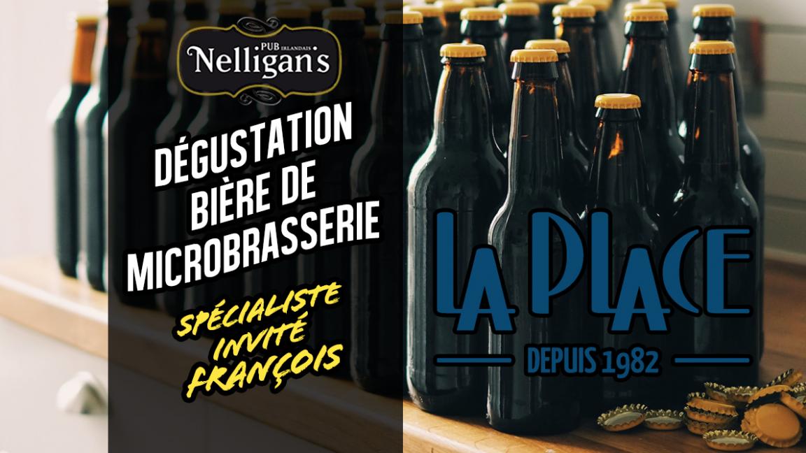Dégustation de bières avec François de La Place
