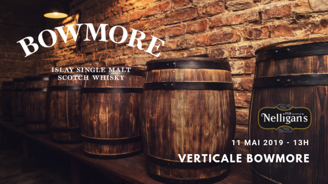Dégustation whiskys - Verticale Bowmore